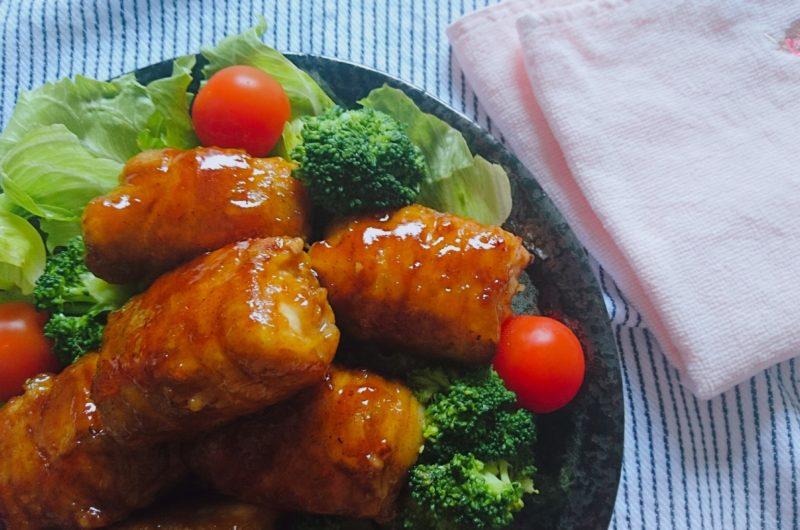 【男子ごはん】にんにくの芽の豚肉ロール巻きのレシピ|スタミナ料理【5月24日】