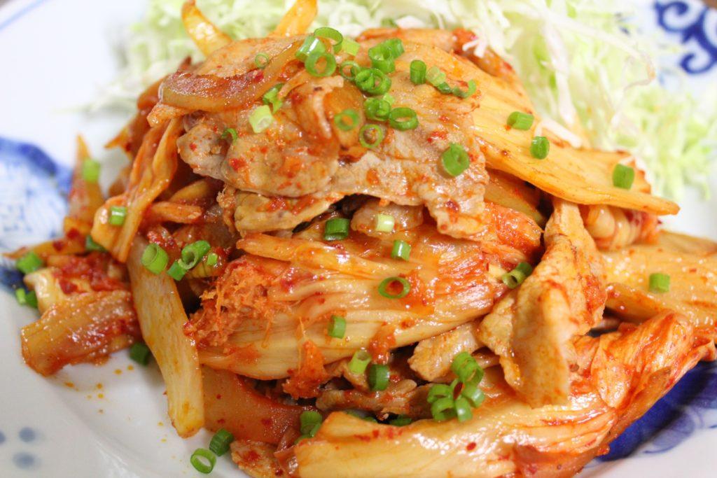 キムチ レシピ 人気 豚