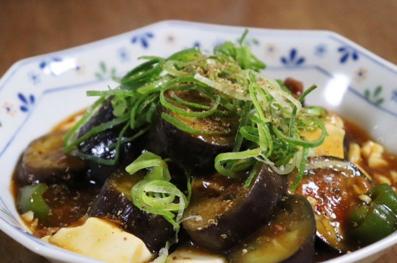 【鉄腕DASH】麻婆茄子と麻婆茄子のハーフ&ハーフのレシピ【7月5日】