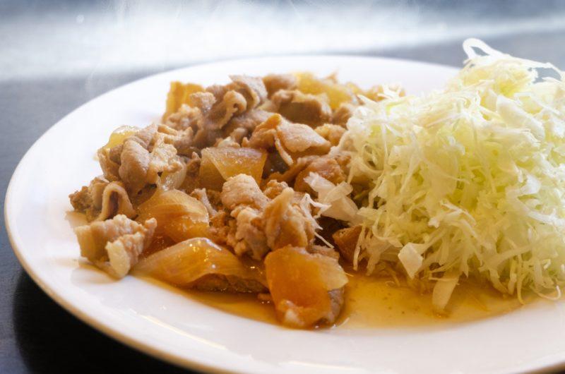 【きょうの料理】豚肉とキャベツの生姜焼き風のレシピ【7月15日】