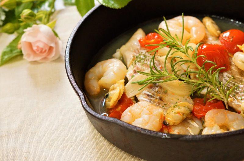 【魔法のレストラン】白身魚とムール貝のアクアパッツァのレシピ|マホレス【7月22日】