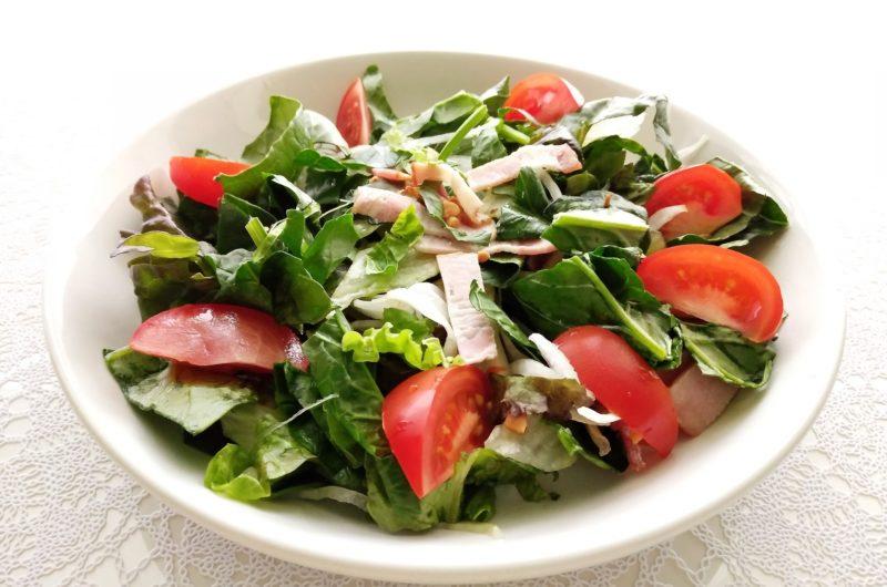 【きょうの料理】ワンタンとほうれん草のサラダのレシピ【7月7日】