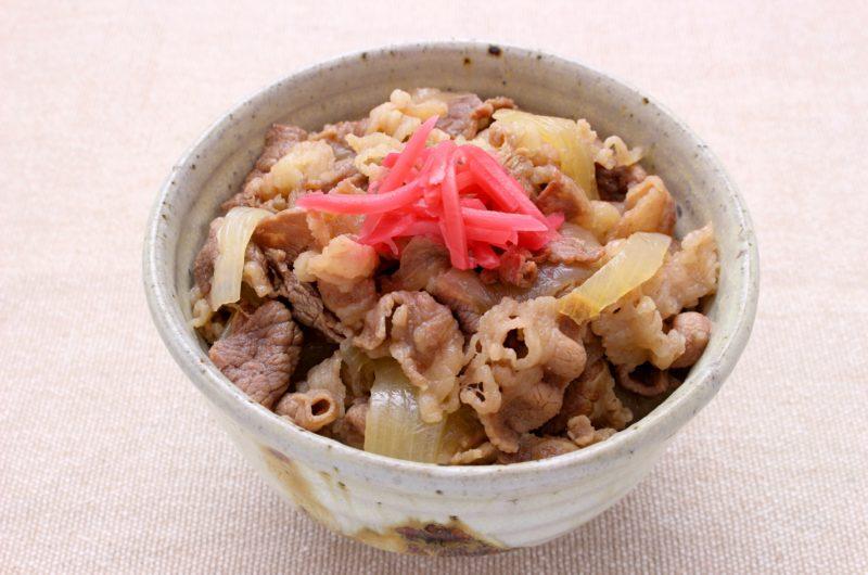 【おは朝】牛丼のレシピ|ほったらかしごはん|おはよう朝日です【7月28日】