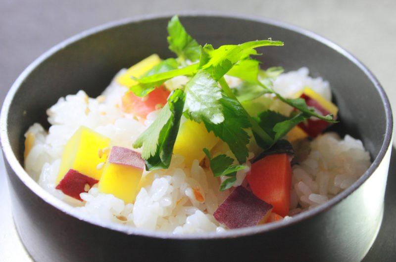 【ノンストップ】サツマイモの混ぜご飯のレシピ|坂本昌行|エッセ【9月18日】