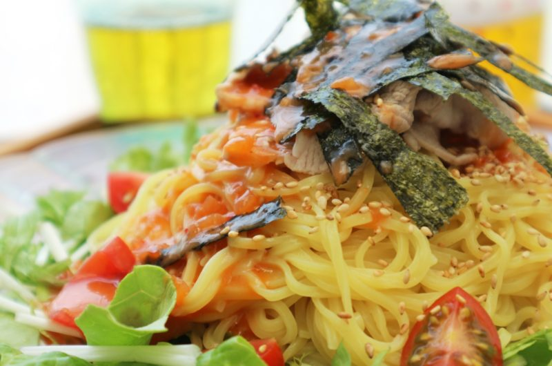 【あさイチ】冷凍トマトでまぜそばのレシピ【9月8日】