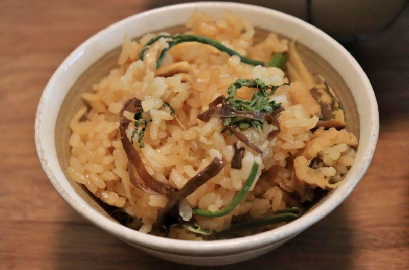 【おは朝】乾物の炊き込みご飯のレシピ|乾物レシピ|おはよう朝日です【9月2日】