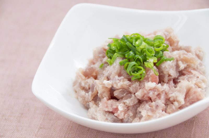 【ヒルナンデス】マグロのたたきユッケのレシピ|業スー【9月14日】