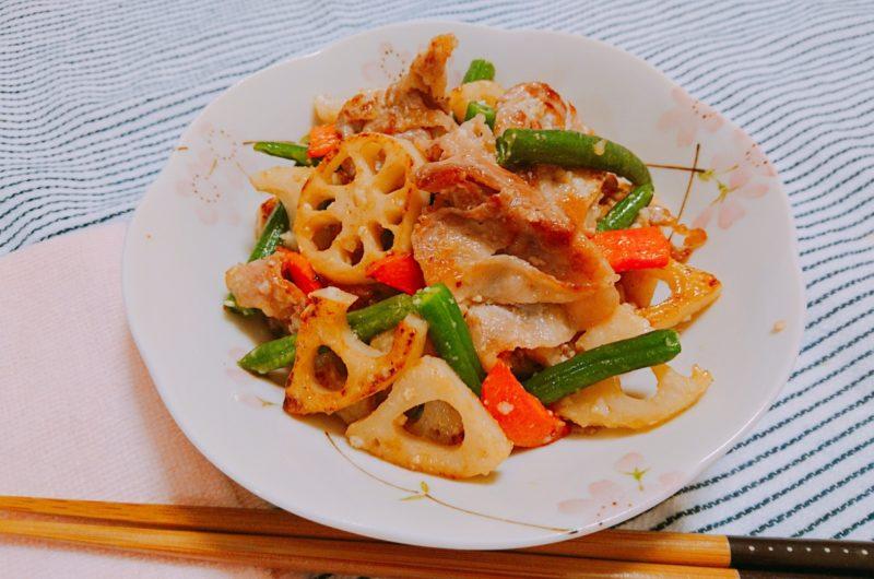 【ノンストップ】サンマとレンコンの黒酢炒めのレシピ|坂本昌行|エッセ【9月25日】
