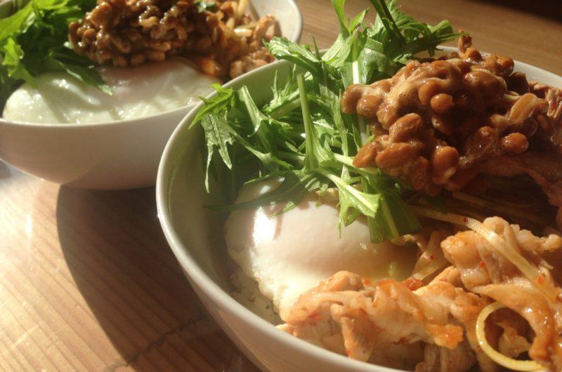 【きょうの料理】納豆と根菜のそぼろ丼のレシピ【9月21日】