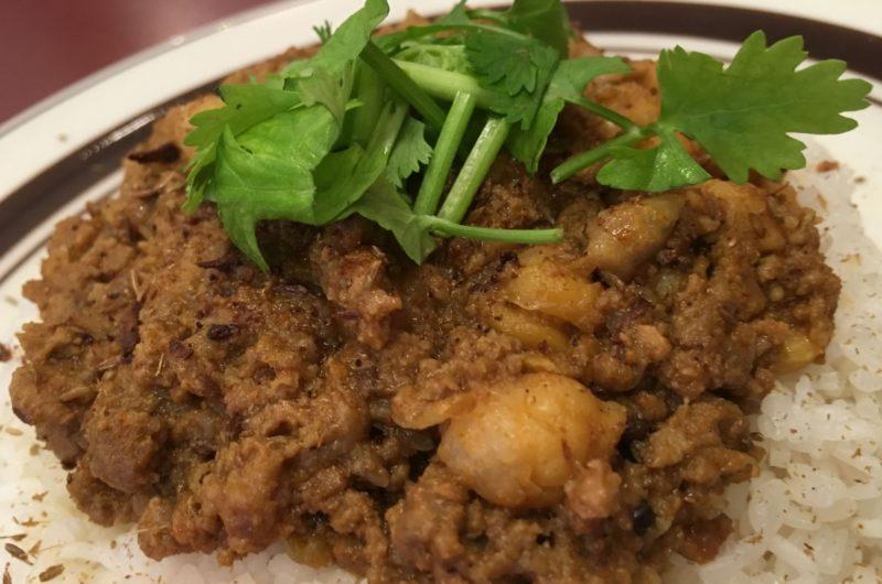 【ヒルナンデス】高野豆腐キーマカレーのレシピ|グレイビー【9月10日】