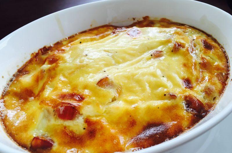 【ヒルナンデス】きのこのヘルシー豆腐グラタンのレシピ|松元絵里花【9月17日】