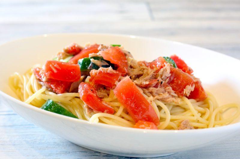 【土曜はナニする】トマトとサバ缶の冷製パスタのレシピ【9月26日】