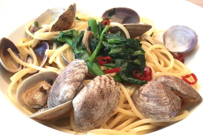【平野レミの早わざレシピ】すいとりボンゴレきのこパスタのレシピ【9月21日】