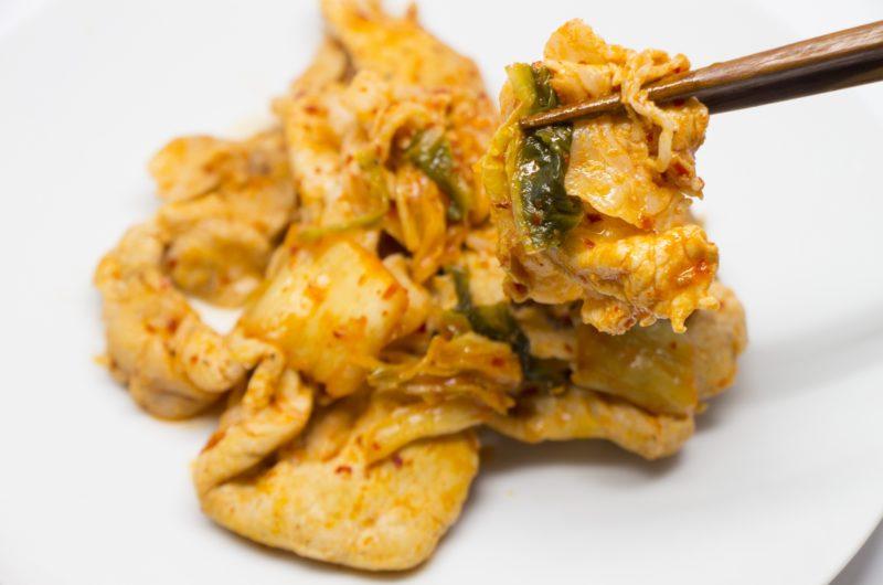 【鉄腕DASH】キクラゲ豚キムチのレシピ【10月25日】
