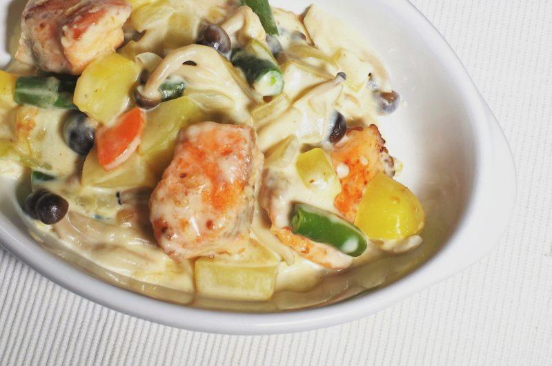 【あさイチ】しいたけと秋さけの味噌クリーム煮のレシピ【10月29日】