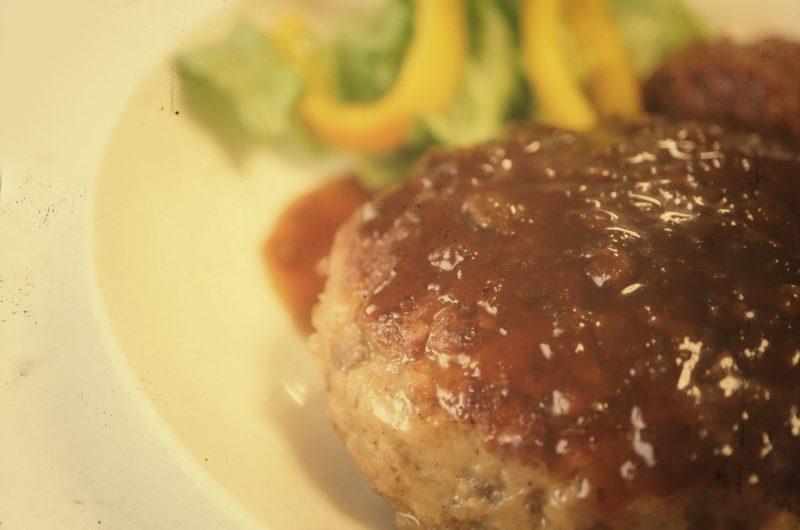 【キャスト】カフェ風 焼肉ハンバーグご膳のレシピ|なにわメシ【10月14日】