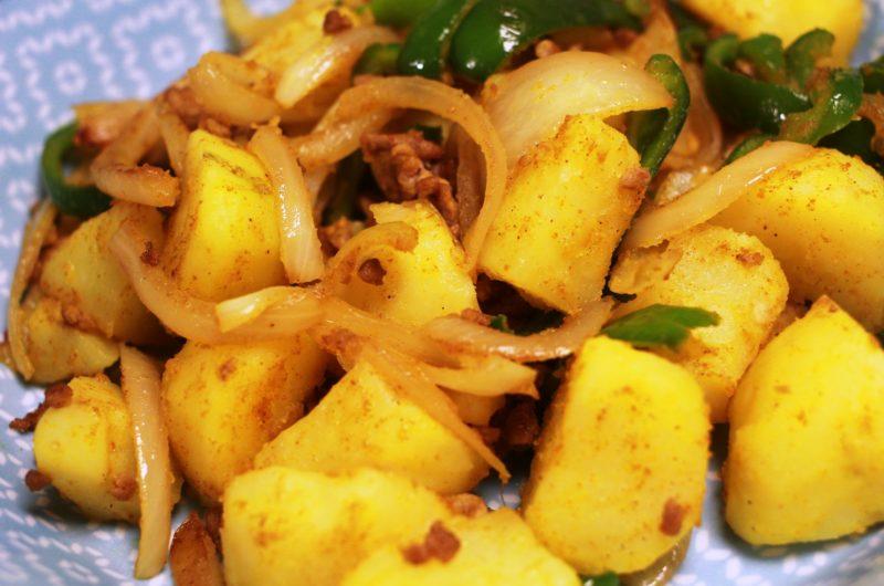 【ノンストップ】里芋と長芋のピリ辛肉味噌炒めのレシピ|クラシル|エッセ【10月21日】
