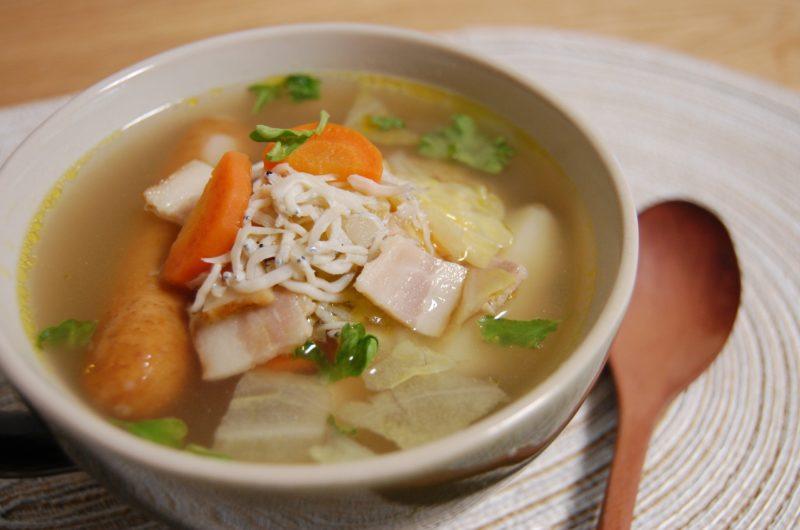 【ガッテン】魚肉ソーセージとにんじん・玉ねぎのポトフのレシピ【10月28日】