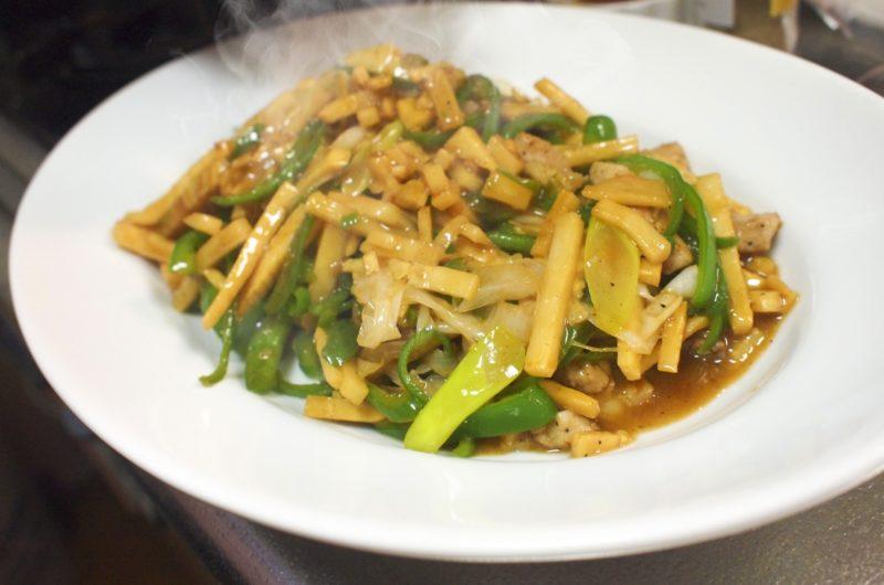 【きょうの料理】豚肉とたけのこの高菜炒めのレシピ【11月4日】
