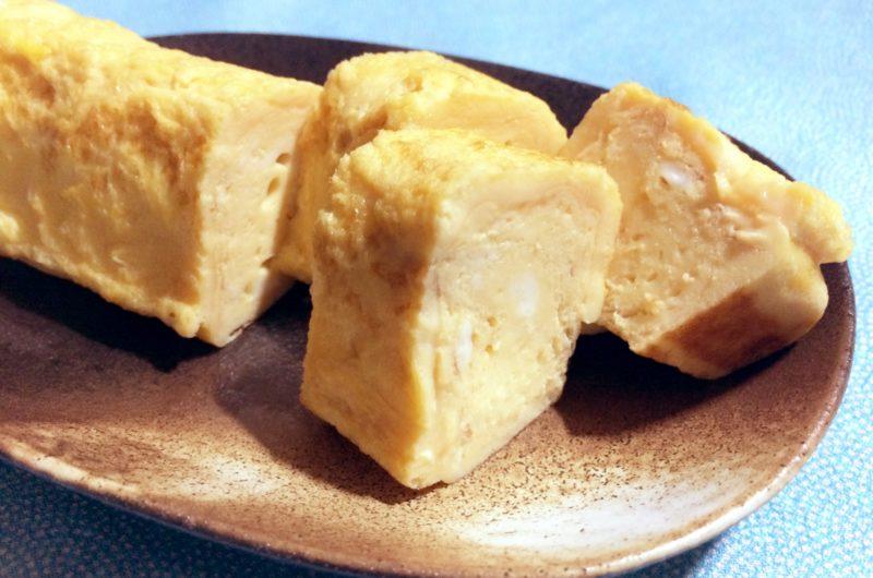 【男子ごはん】紅ショウガの卵焼きのレシピ【11月8日】