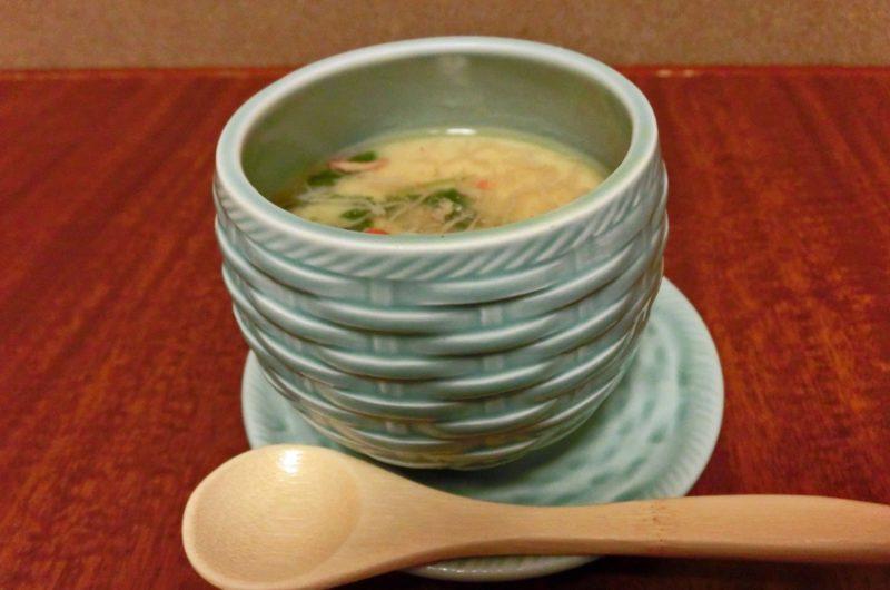 【グッとラック】お茶漬けの素で海鮮あんかけ茶碗蒸しのレシピ ギャル曽根【11月4日】