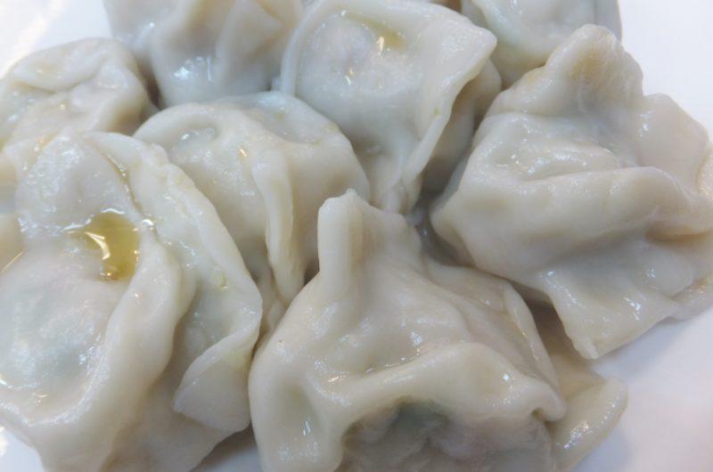 【あさイチ】鶏と春菊の水餃子のレシピ【11月12日】