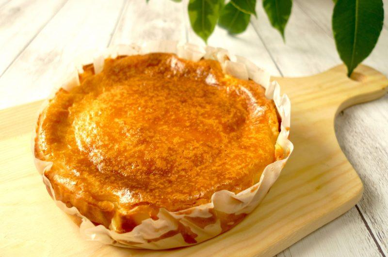 【きょうの料理】バスク風チーズケーキのレシピ【11月25日】