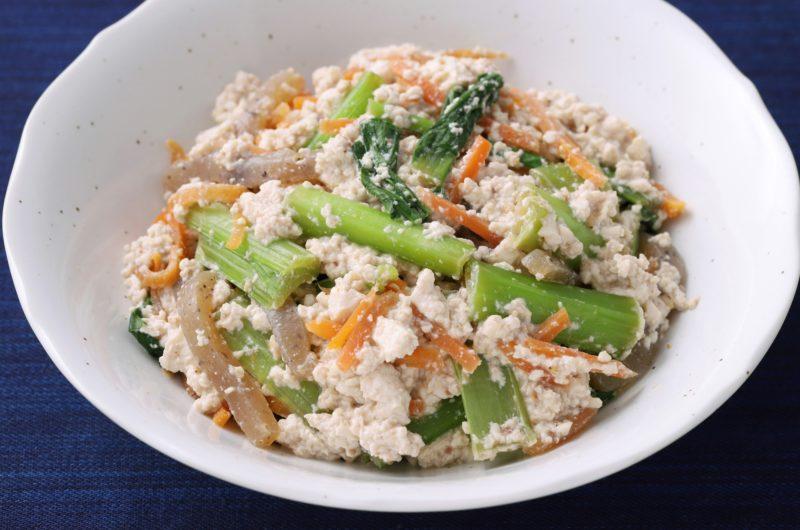 【きょうの料理】干し柿と春菊の白和えのレシピ|横山タカ子【11月16日】
