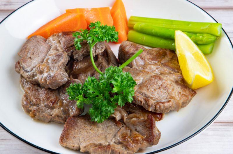 【ゲンキの時間】牛もも肉のキノコ炒めのレシピ【11月1日】