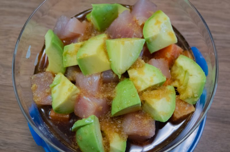 【キャスト】無限アボカドのマグロ入りのレシピ なにわメシ【11月11日】