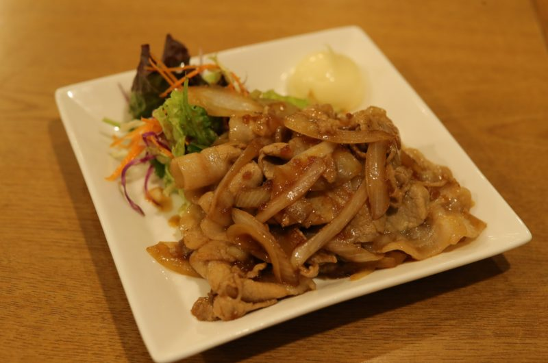 【Nスタ】おろしポン酢ソース生姜焼きのレシピ【12月15日】