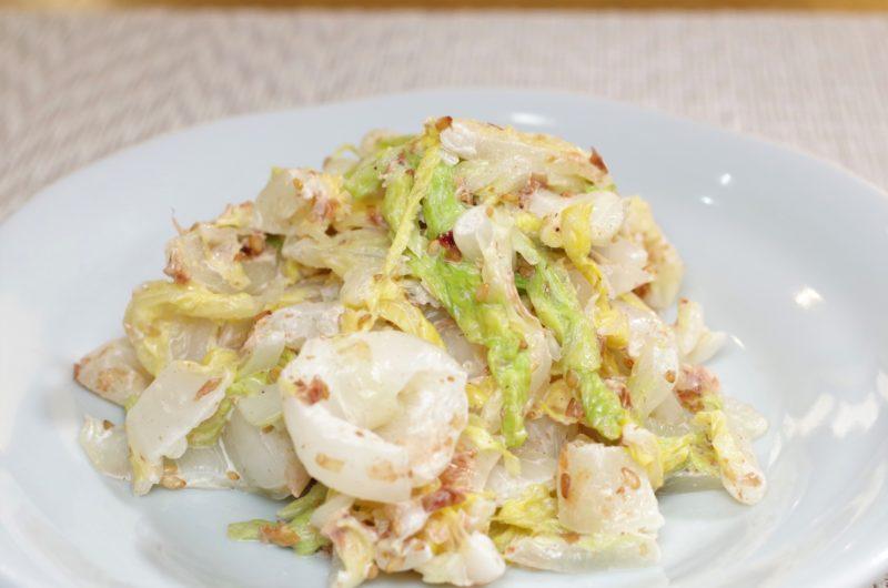 【ソレダメ】白菜のちぎり和え(白菜の爆速サラダ)のレシピ|和田明日香【12月16日】