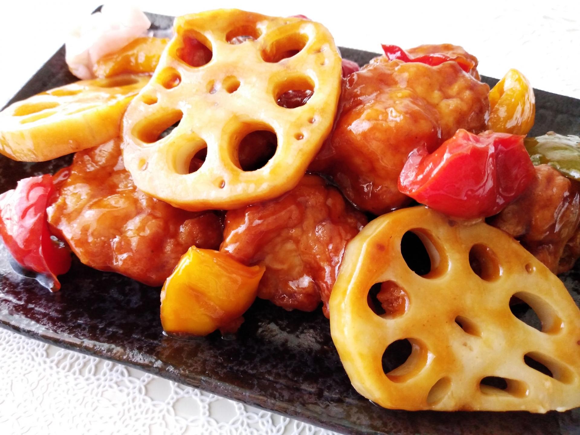 【あさイチ】鶏とれんこんのりんご照り焼きのレシピ【12月2日】