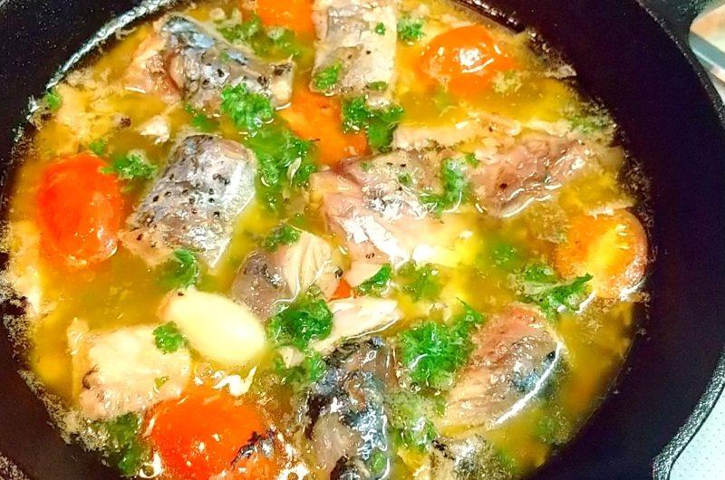 【世界一受けたい授業】サバ缶とトマト缶のヘルシー鍋のレシピ【12月12日】