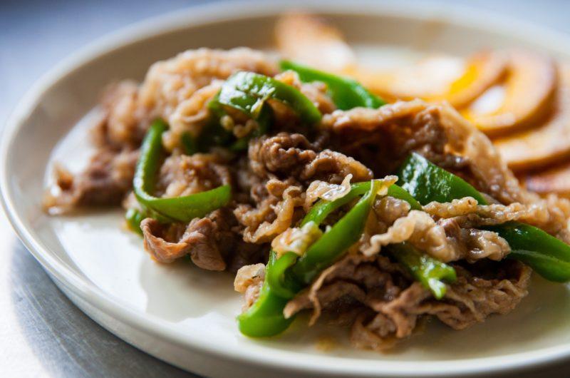 【きょうの料理】牛肉とピーマンのソース蒸し煮のレシピ【1月12日】