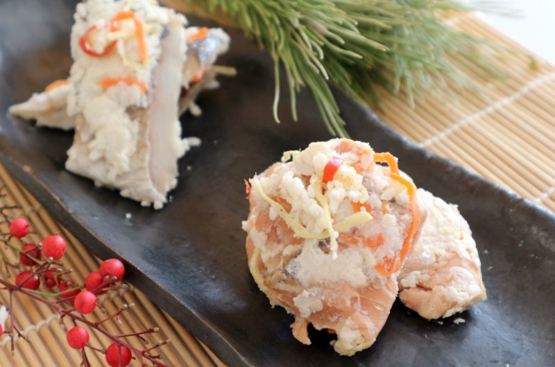 【あさイチ】焼きもちと鮭の甘酒和えのレシピ【1月6日】