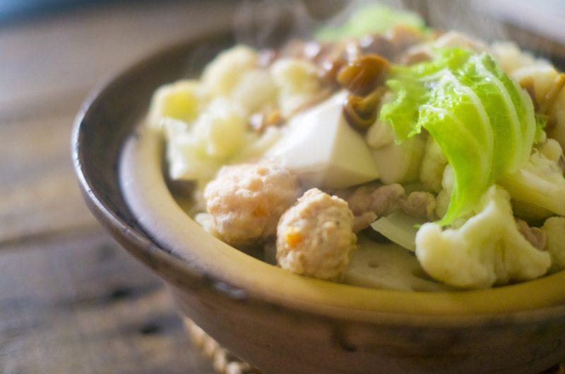 【きょうの料理】白菜と大きな肉だんごの鍋のレシピ【1月5日】