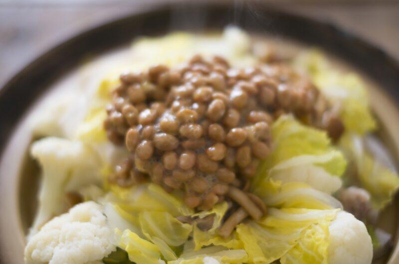 【青空レストラン】ピリ辛納豆鍋のレシピ 檜山納豆【1月16日】