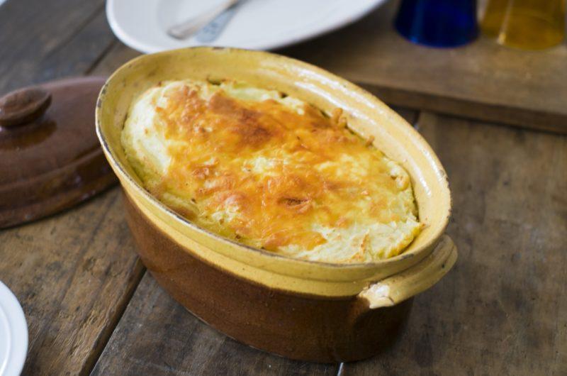 【シューイチ】おもちの豆乳グラタンスープのレシピ|リュウジ【1月10日】