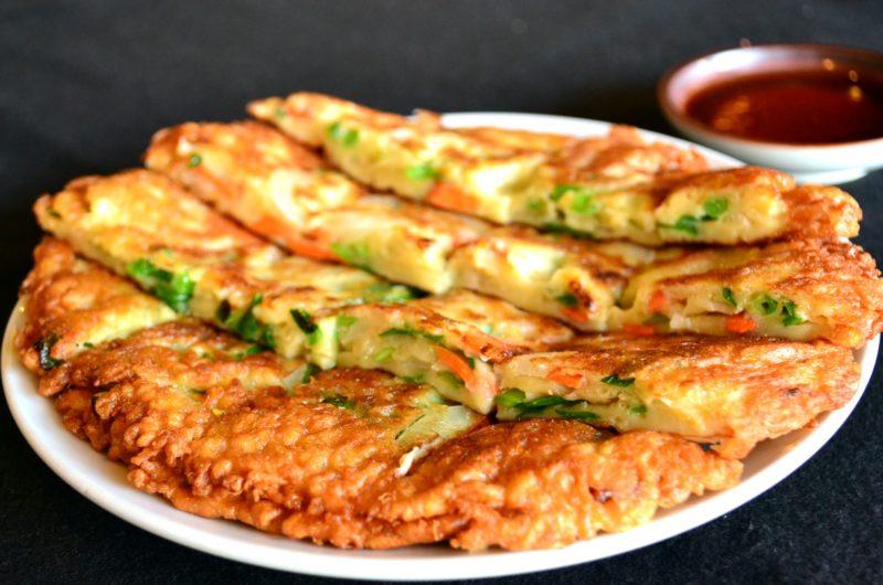 【きょうの料理】白菜の外葉のチヂミのレシピ【1月4日】
