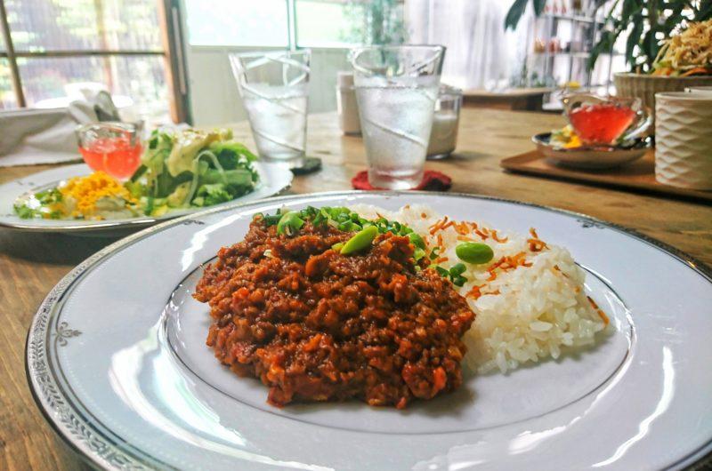 【ヒルナンデス】エビとジャガイモのドライカレーのレシピ|印度カリー子|グレイビー【1月7日】