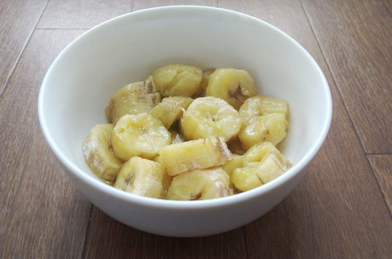 【家事ヤロウ】バナナ餅ソテーのレシピ【1月13日】