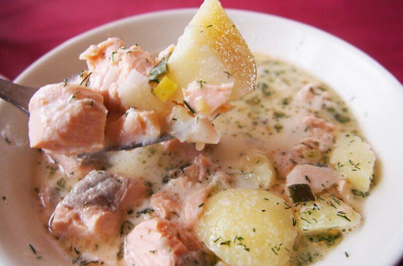【土曜はナニする】サーモンのレモンチーズスープのレシピ 魔法のレンチンスープ Atsushi【1月30日】