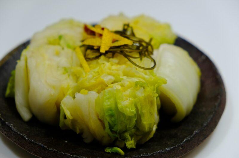 【青空レストラン】三ツ谷白菜のサラダのレシピ【1月30日】
