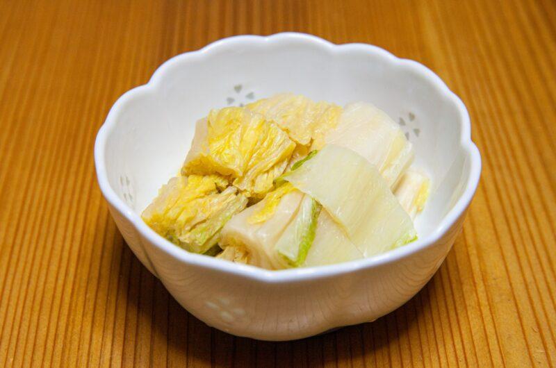 【相葉マナブ】白菜の塩漬けのレシピ【1月24日】