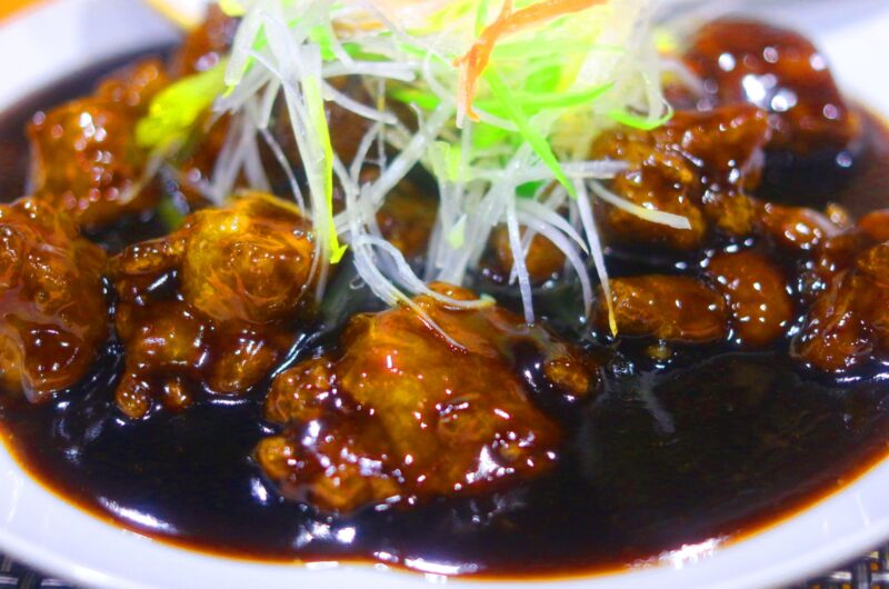 【男子ごはん】鶏団子の黒酢あんかけのレシピ【2月28日】