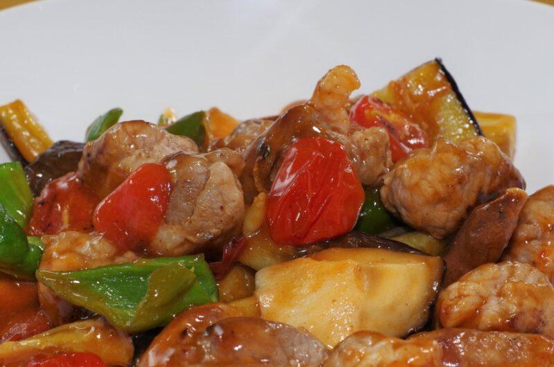 【キメツケ】ブルーベリージャム酢豚のレシピ【2月16日】