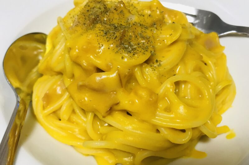 【ヒルナンデス】栗かぼちゃのカルボナーラのレシピ|カップスープアレンジ【2月11日】