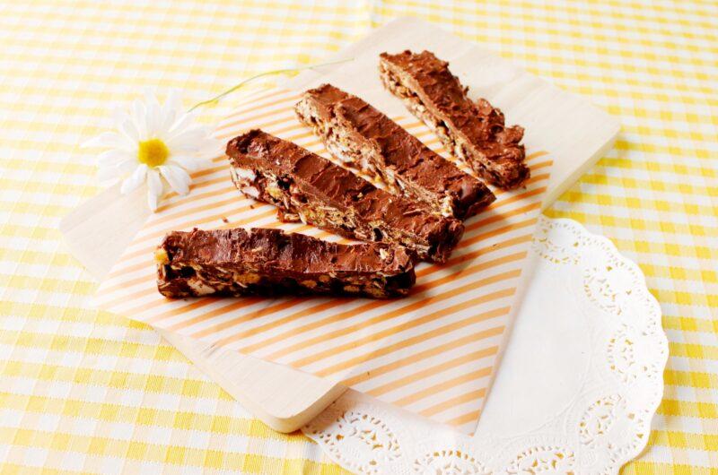 【ノンストップ】チョコレートクランチのレシピ|クラシル|エッセ【2月10日】