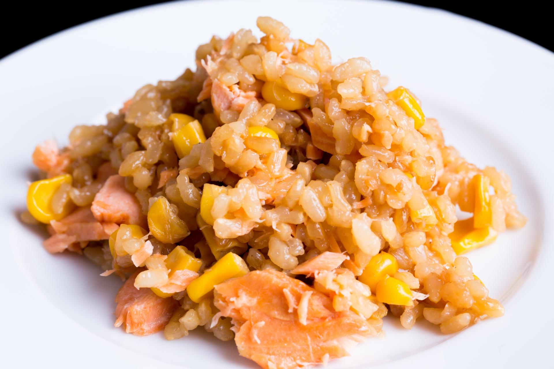 【ソレダメ】炊飯器サーモンチャーハンのレシピ|リュウジ【2月17日】